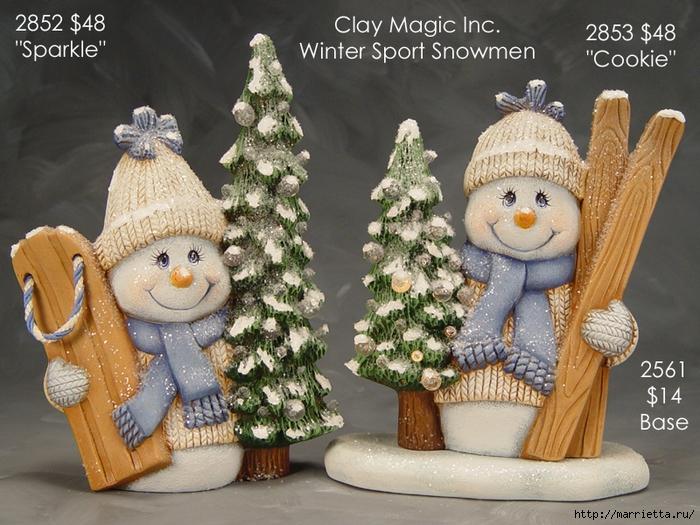 Из полимерной глины. Идеи новогодних подарков (15) (700x525, 354Kb)