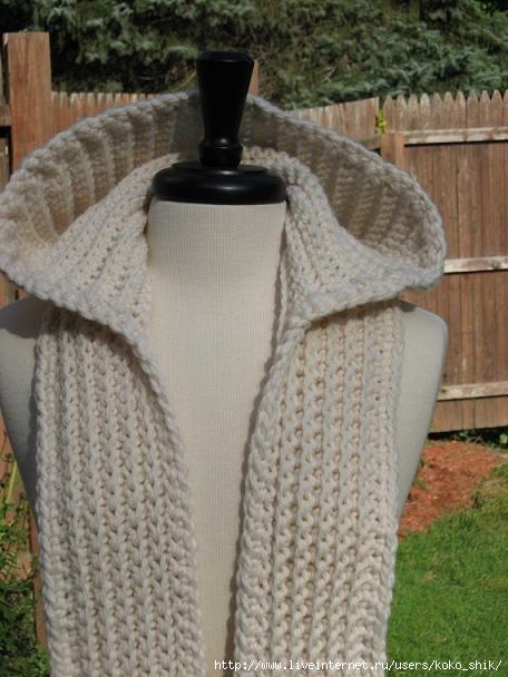 Капюшон с шарфом (456x608, 144Kb)