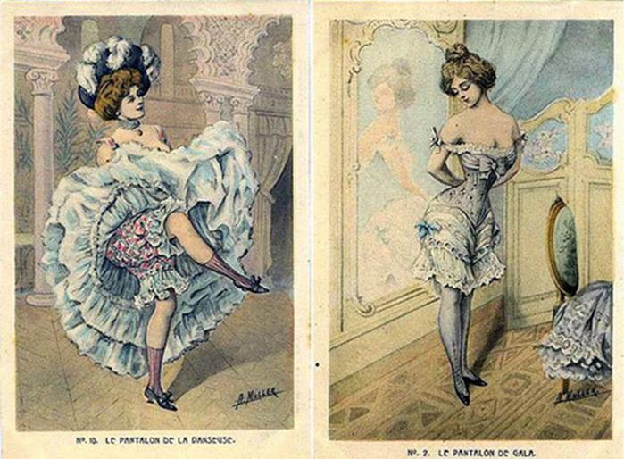 125607639 101415 1202 5 Дамское нижнее бельё второй половины XIX века: «аморальные» батистовые панталоны