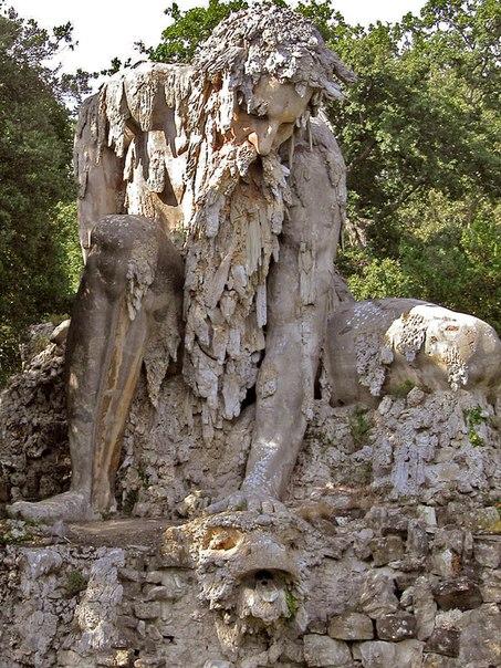 статуя бога аппенино италия 9 (453x604, 378Kb)