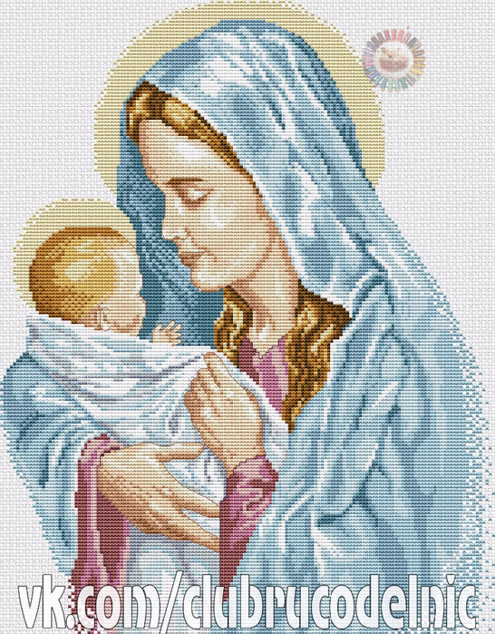 The Blessed Mother (546x700, 634Kb)