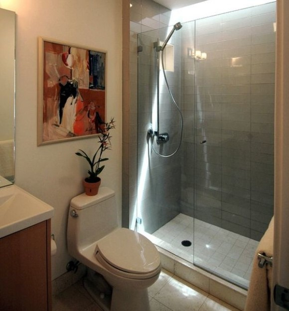 Contemporary-bath-with-glass-shower-doors-and-warm-hues-580x625 (580x625, 211Kb)