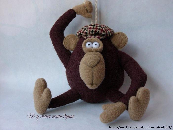 Игрушечная обезьянка своими руками