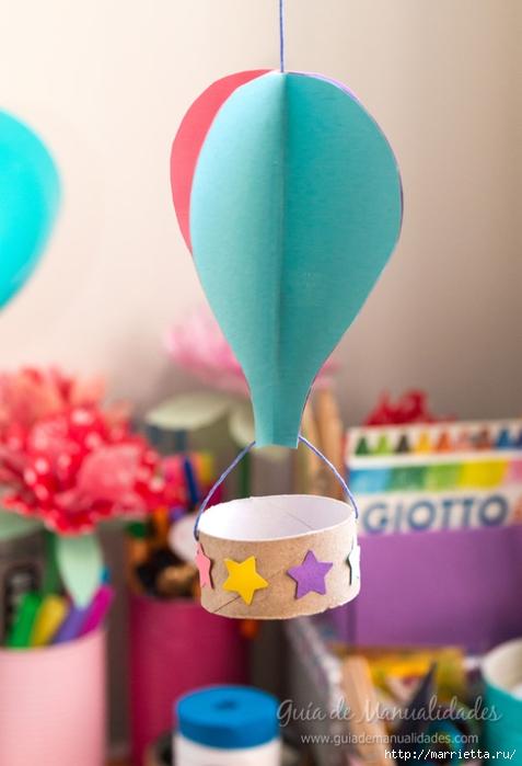Для детской комнаты. Мобиль с воздушными шарами своими руками (7) (477x700, 174Kb)