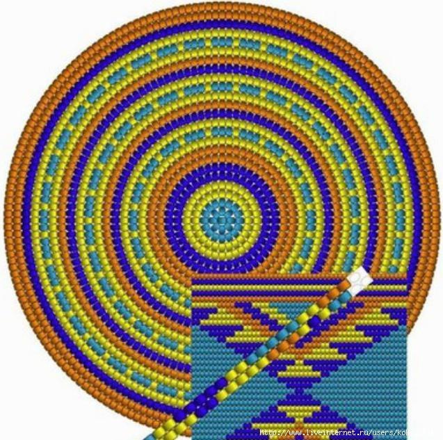 Схемы жаккард крючком - 19а (637x633, 287Kb)