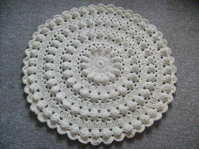 Объемный коврик своими руками фото 244