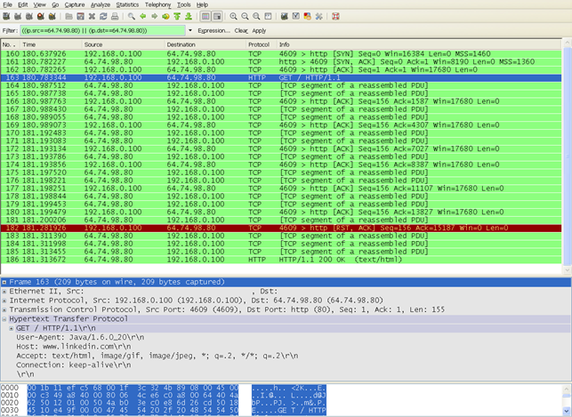 Wireshark, бесплатная программа для анализа сетевого трафика