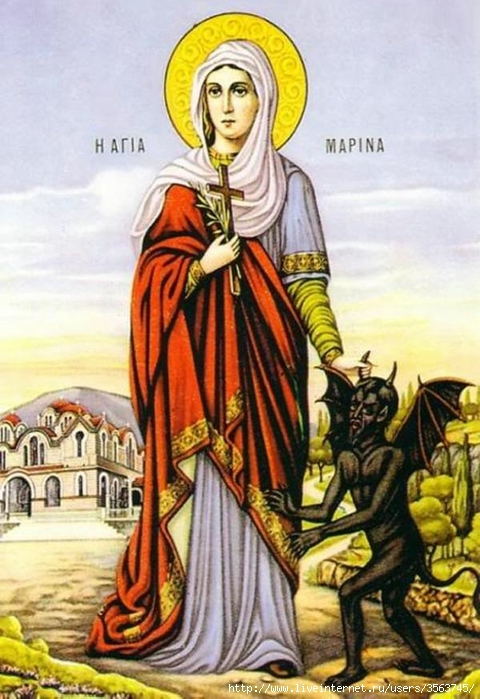 St.Marina_the_Martyr_holding_a_devil (480x700, 258Kb)