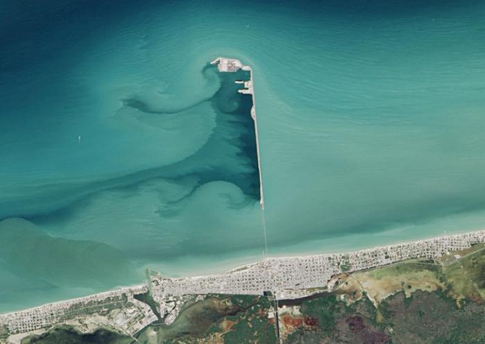 пирс прогресо мексиканский залив 8 (700x496, 242Kb)