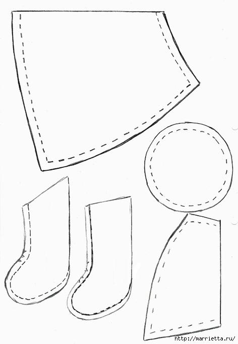 Текстильная подвеска. Девочка АНГЕЛ с валентинкой (2) (472x681, 81Kb)