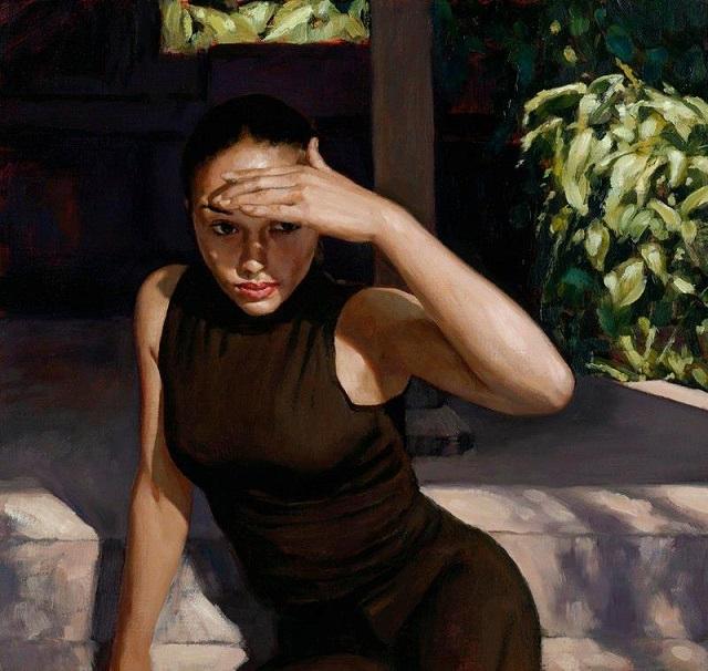 Paul Boswijk 1959 - Hollandaise Figurative painter - Tutt'Art@ (640x606, 351Kb)