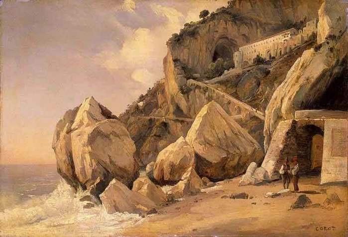 23134118_Corot_Rocks_in_Amalfi (699x477, 135Kb)