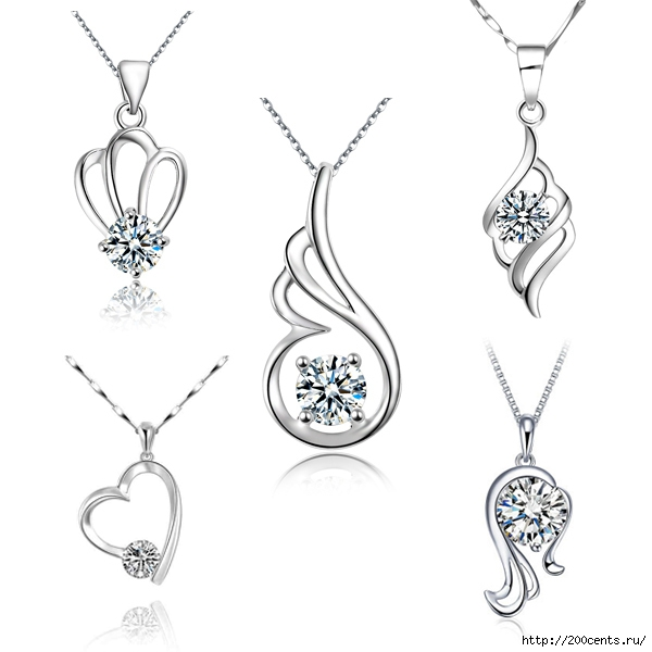 2015 Summer style Simple 925 Sterling Silver Crystal Zircon Pendant Necklace Wholesale Fashion Lady Jewelry 18 Style For Choose/5863438_2015SummerstyleSimple925SterlingSilverCrystalZirconPendantNecklaceWholesaleFashionLadyJewelry181 (600x600, 98Kb)