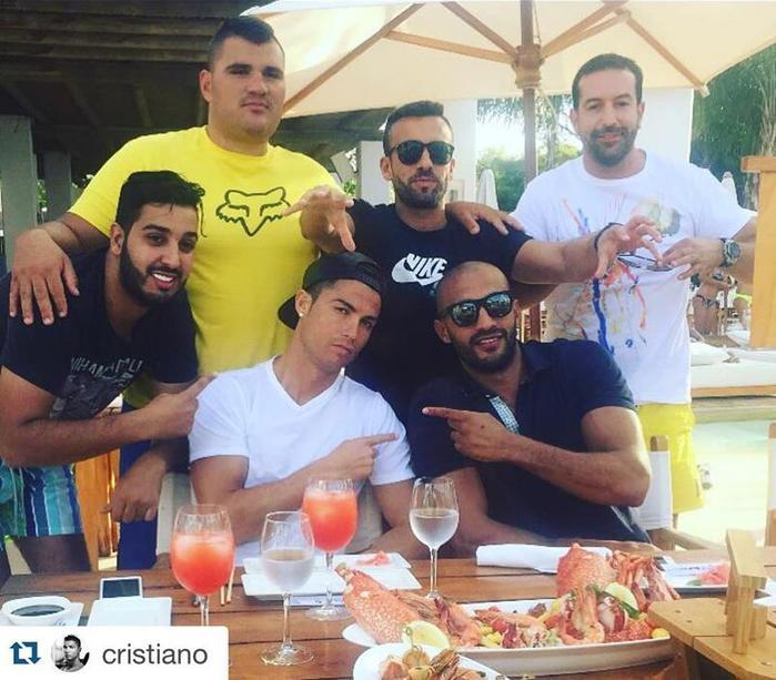 Роналду в надёжных руках марокканского кикбоксера