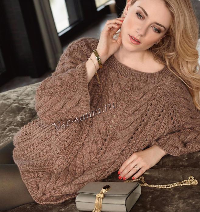 Stilnyi-udlinennyi-pulover-ris (658x700, 505Kb)