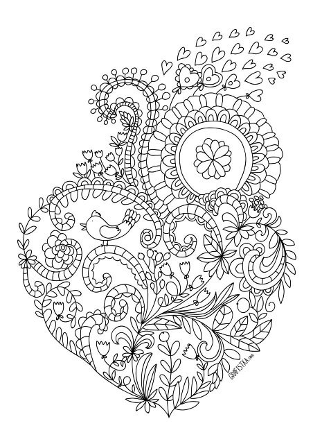 Раскраски для арт терапии