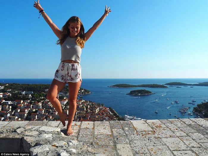 История о том, как 21 летняя британская блогерша зарабатывает, путешествуя по миру