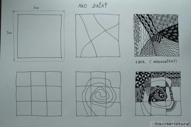 Зентагл - создаем панно и открытки ручной работы (17) (660x440, 107Kb)