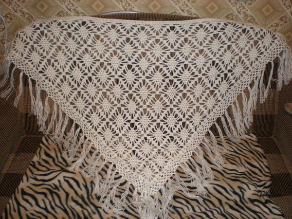 Представлены схемы шалей в