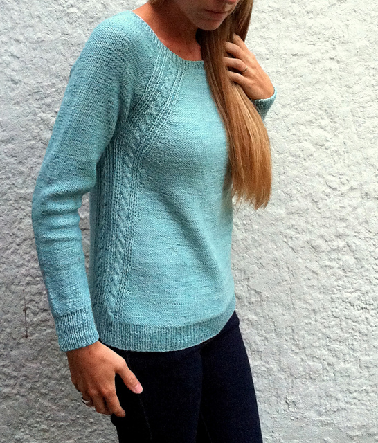 Пуловер Caroline (546x640, 254Kb)
