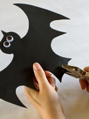 Подвески с тыквами и летучими мышами. Шаблоны к Хэллоуину (6) (300x400, 73Kb)