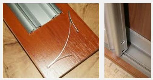 Как регулировать прижим дверей в шкафу-купе!