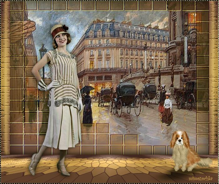 Ретро Париж (700x590, 593Kb)