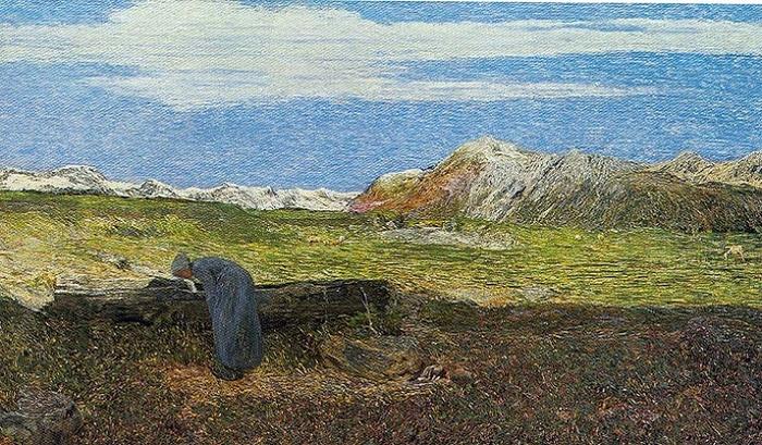 Alpine landscape, 1893-94 (700x409, 436Kb)