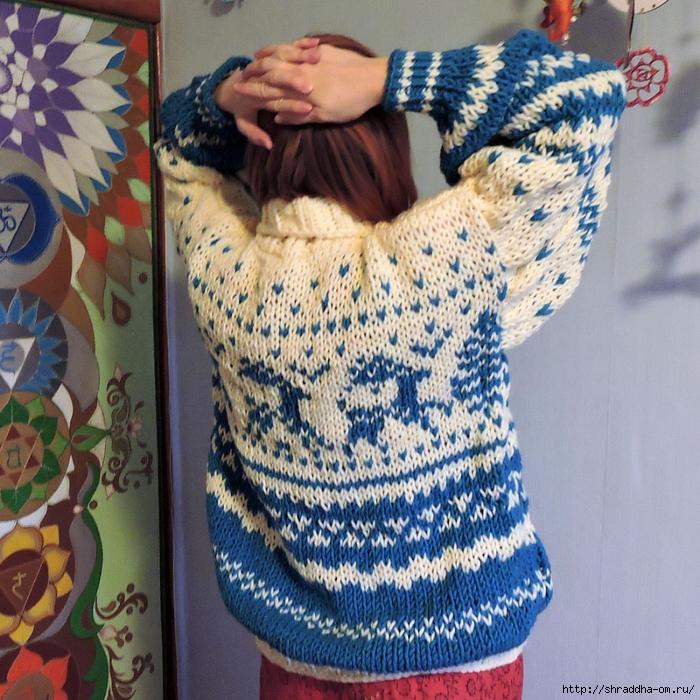 свитер с оленями от Shraddha (2) (700x700, 445Kb)