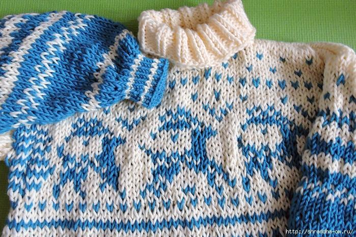 свитер с оленями от Shraddha (3) (700x466, 401Kb)