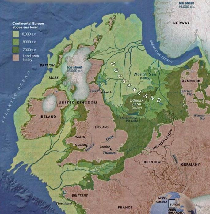 Как Европа уходила под воду