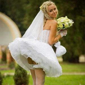 Трусики для свадьбы фото