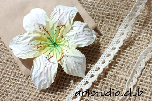 Лилии из бумаги своими руками скрапбукинг 64