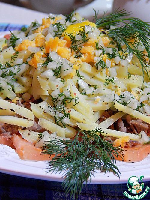 Рецепты вкусных мясных салатов фото