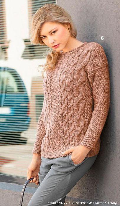 пуловер с косами1 (407x700, 176Kb)