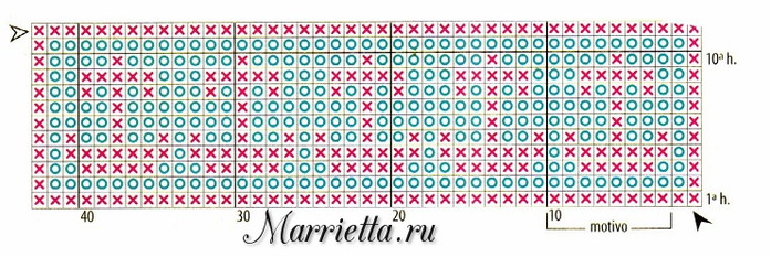 Филейное вязание. Украшаем махровое полотенце (2) (700x233, 250Kb)