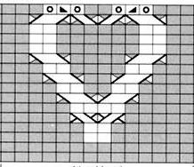 Вязание спицами. Теплая короткая юбочка с сердечками (6) (218x188, 37Kb)