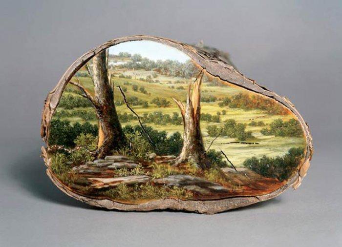 картины на срубах Элисон Моритсугу 1 (700x506, 228Kb)