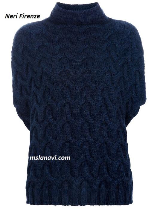 вязаный-жилет-спицами-схема-2-Neri-Firenze (525x700, 303Kb)