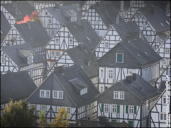 Немецкий город Фройденберг.