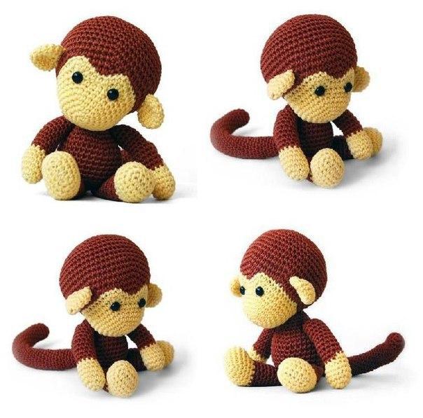 Маленькая обезьяна своими руками