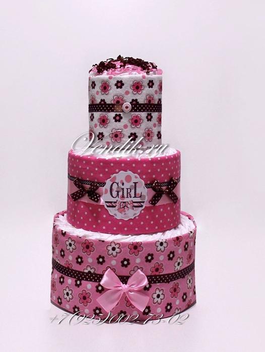 Торт из памперсов и пелёнок (6) (526x700, 288Kb)