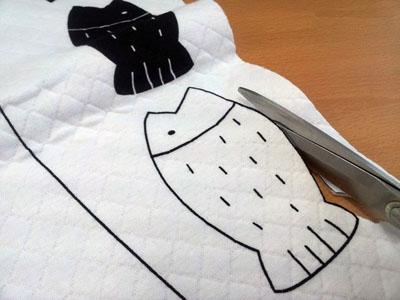 Смешная подушка КОШКА. Шьем сами (4) (400x300, 68Kb)