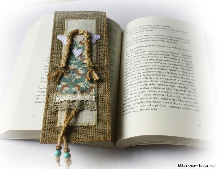 Закладки для книжки и подвески с ангелами. Идеи (13) (700x544, 283Kb)