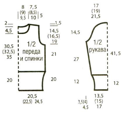 6009459_ukorochennyysviteruzoromgusinayalapkaschemevyazaniespicamimodelishemykoftykardiganysvyazannyespicami (418x395, 17Kb)
