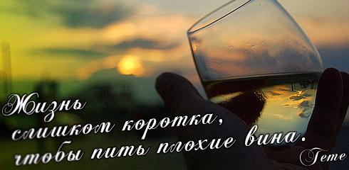 Жизнь слишком коротка, чтобы пить плохие вина..bmp (490x240, 130Kb)