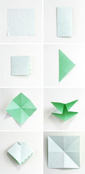 Бантики из бумаги в технике оригами (2) (295x600, 74Kb)