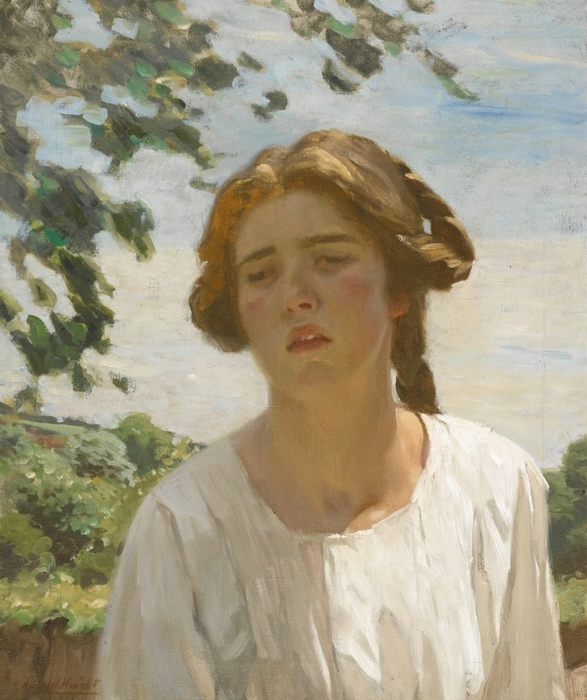 4_Портрет девушки корниш (Portrait of a Cornish Girl)_61 х 51_х.,м._Частное собрание (587x700, 285Kb)