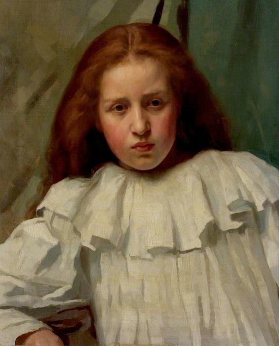 Harold-Knight-Girl-in-a-White-Dress (565x700, 114Kb)