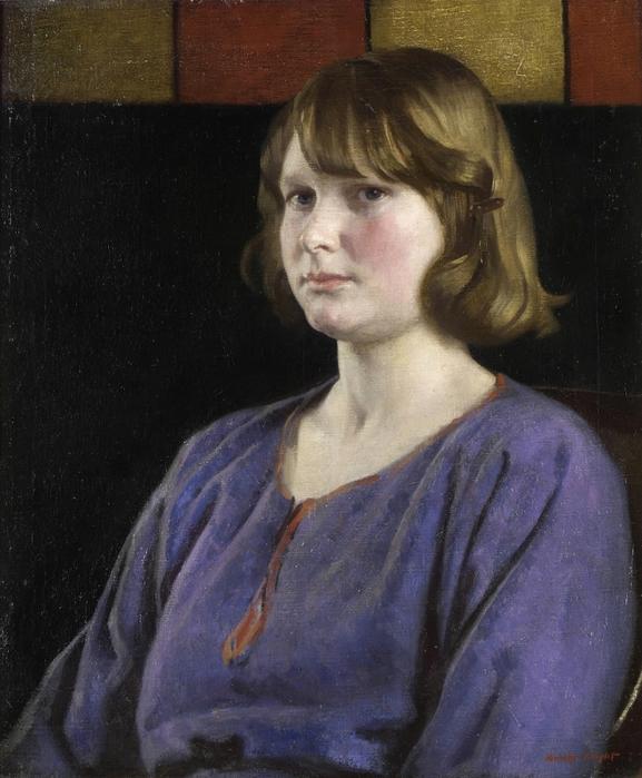 Портрет девушки (Portrait of a young girl)_61 x 51_х.,м._Частное собрание (577x700, 271Kb)